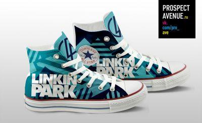 Кеды Converse «Linkin Park Theory» 305e983624b